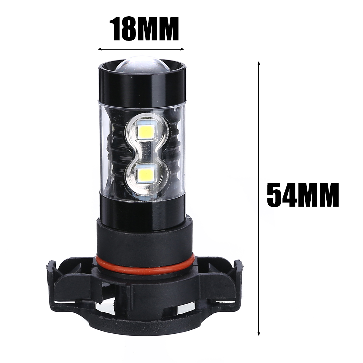 2pcs Super Bright 50W PSX24W 2504 LED Bulbs Fog Light 6000K Day-time Running Lamo For Honda Toyota Honda BMW
