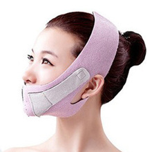 Slim Face Mask Thin Face-lift Bandage Care Correction Belt Slimming Band Facial Shaper Massage Tool Reduce Double Chin Burn Fat(China)
