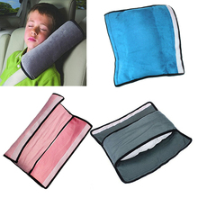 3 Colors Car Safety Seat Belt Shoulder Pads Cover Harness Pad Protector Comfortable Convenient For Kids Adjustable Site