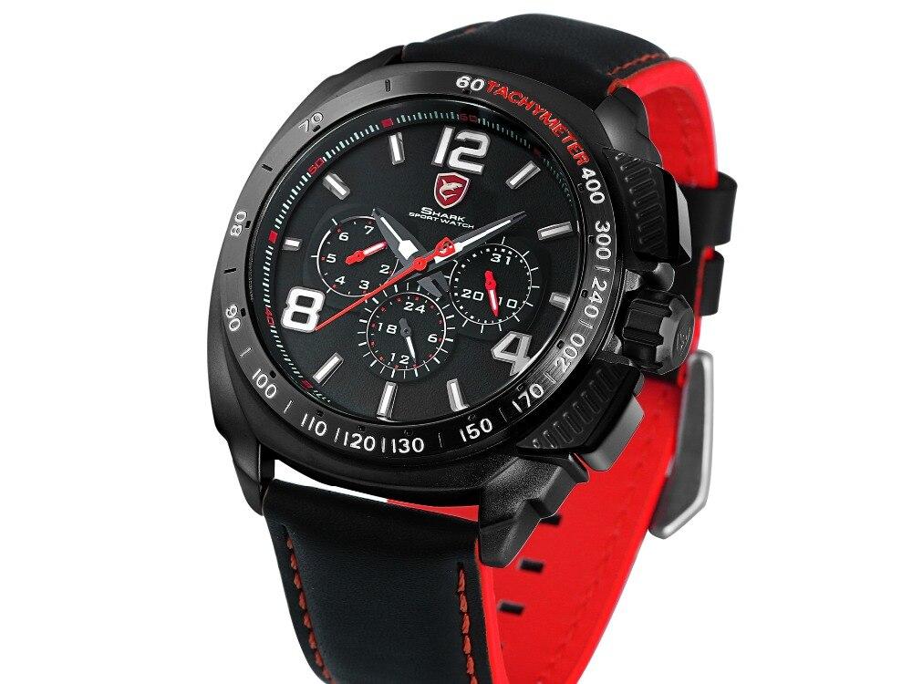 HTB1YK8RXVkoBKNjSZFkq6z4tFXa6 - Tiger Shark 3rd Generation Sport Watch - Red SH417