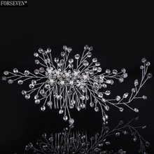 1pc Crystal Twig Style Hair Comb Beautiful Women Hair Accessories Party Hair Decoration Wedding Tiara Bridal Hair Accessories
