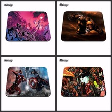 New Arrivals Cool Man Iron Man Computer Mouse Pad Mousepads Decorate Your Desk Non-Skid Rubber Pad for Christmas Gift