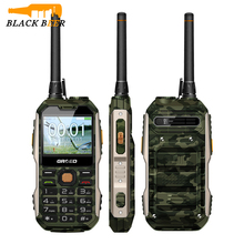 GRSED YAX8800 UHF Helmet Walkie Talkie Rugged Mobile Phone 3W Powerful Torch 8800mAh Long Standby Dual SIM 1.3MP Camera Radio