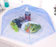 Hot Gauze Food Cover Umbrella Style Picnic Anti Fly Mosquito Net Tent Meal Cover Table Mesh Food Cover Kitchen Tools(China)