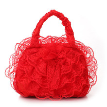 Bridal Bag Wedding Purse Ladies Women Evening Bags Lace Bridal Beautiful Elegant Handbags LBY2017