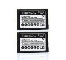 2X Phone Replacement 1800mah Battery For Blackberry bold 9000 9700 9780(China)