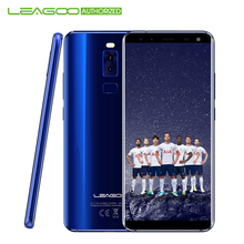LEAGOO S8 4G Android 7.0 Moblie Phone 3GB+32GB 5.72 Inch Edge-Less Display MTK6750T Octa Core 13MP 4 Cams USB Type C Smartphone(China)