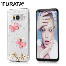 Buy 3D Bling Diamond Handmade Glitter Crystal Protective Cover Fundas Case Samsung Galaxy Note 5 S7 Edge S8 Plus A3 A5 J3 J5 P30 for $2.30 in AliExpress store