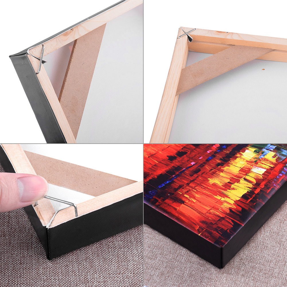 4Pcs Set Wood Frame Stretcher For Canvas and Paintings 7