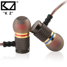 KZ EDR1 Earphone Metal magic Sound bass headset Subwoofer Earburd DJ hifi Stereo Music Sport Running Earphones for iphone Xiaomi(China)