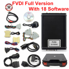 FVDI Full Version (Including 18 Software) FVDI ABRITES ABRITES Commander Without Limited FVDI Diagnostic Scanner DHL Free(China)