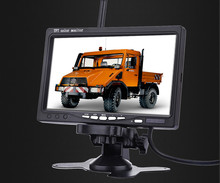 7 Inch Car Truck Monitor Reverse Rearview Wireless Rear-view System TFT LCD  MonitorS High Definition Camera Remote Control
