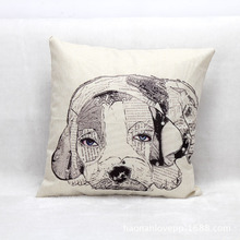 Lovely Newspaper Dog Creative Throw Pillow Sofa Office Car Bedding Set Decorative Cushion OEM Kids Gift