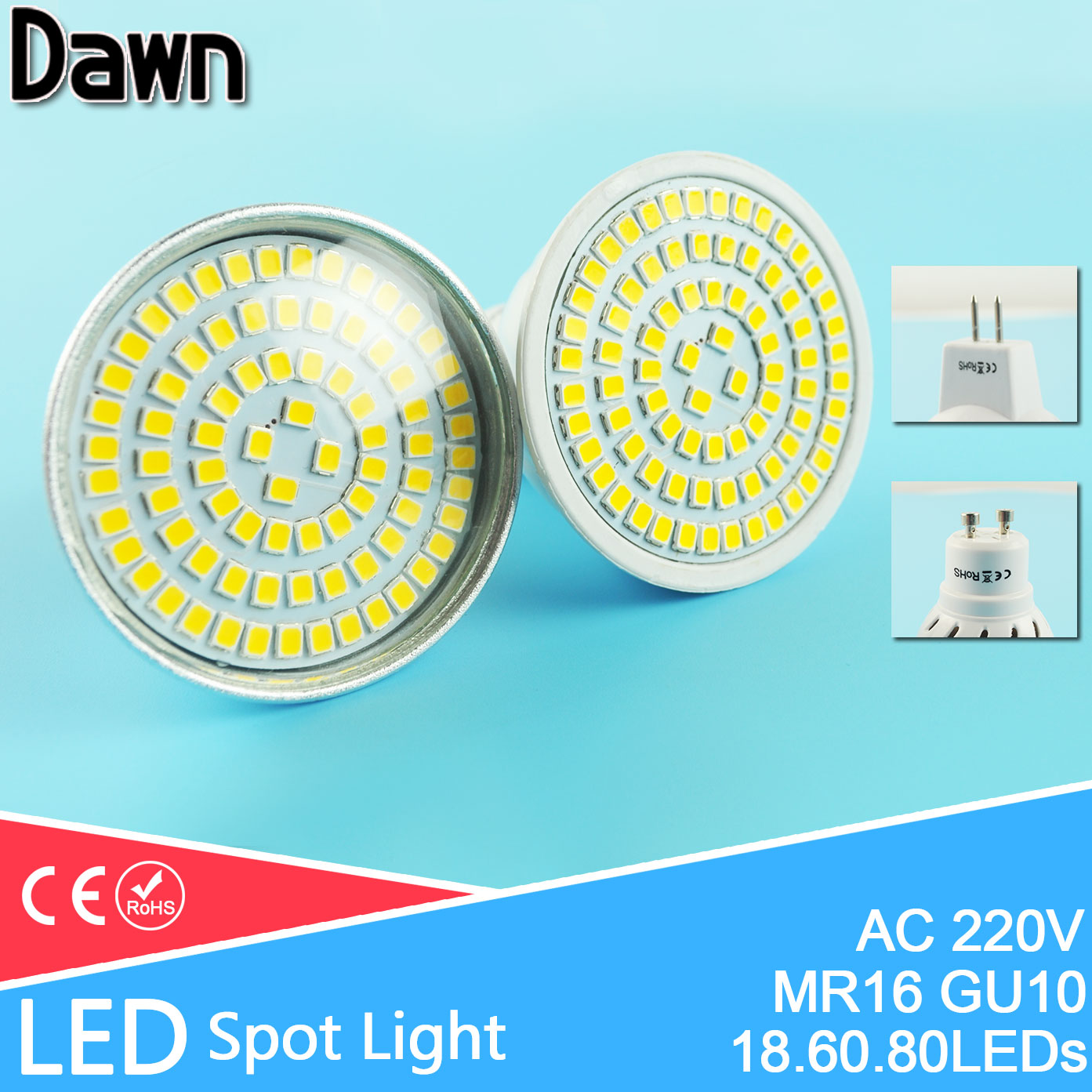 -font-b-LED-b-font-Spotlight-Bulb-Bombilla-font-b-LED-b-font-GU5-3 Verwunderlich Gu 5.3 Led 230v Dekorationen