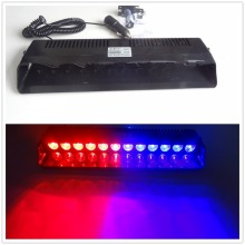 CYAN SOIL BAY 12 LED Emergency Warning Traffic Advisor Vehicle Strobe LED Flash Light Bar Red Blue(China)