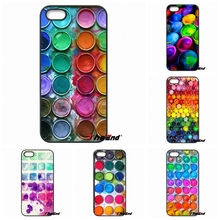 For Huawei Ascend P6 P7 P8 P9 Lite Y5 Y6 II Honor 4C 5C 6 5X G8 Mate 8 7 9 Designer Watercolor Set Paint Box Cell Phone Case