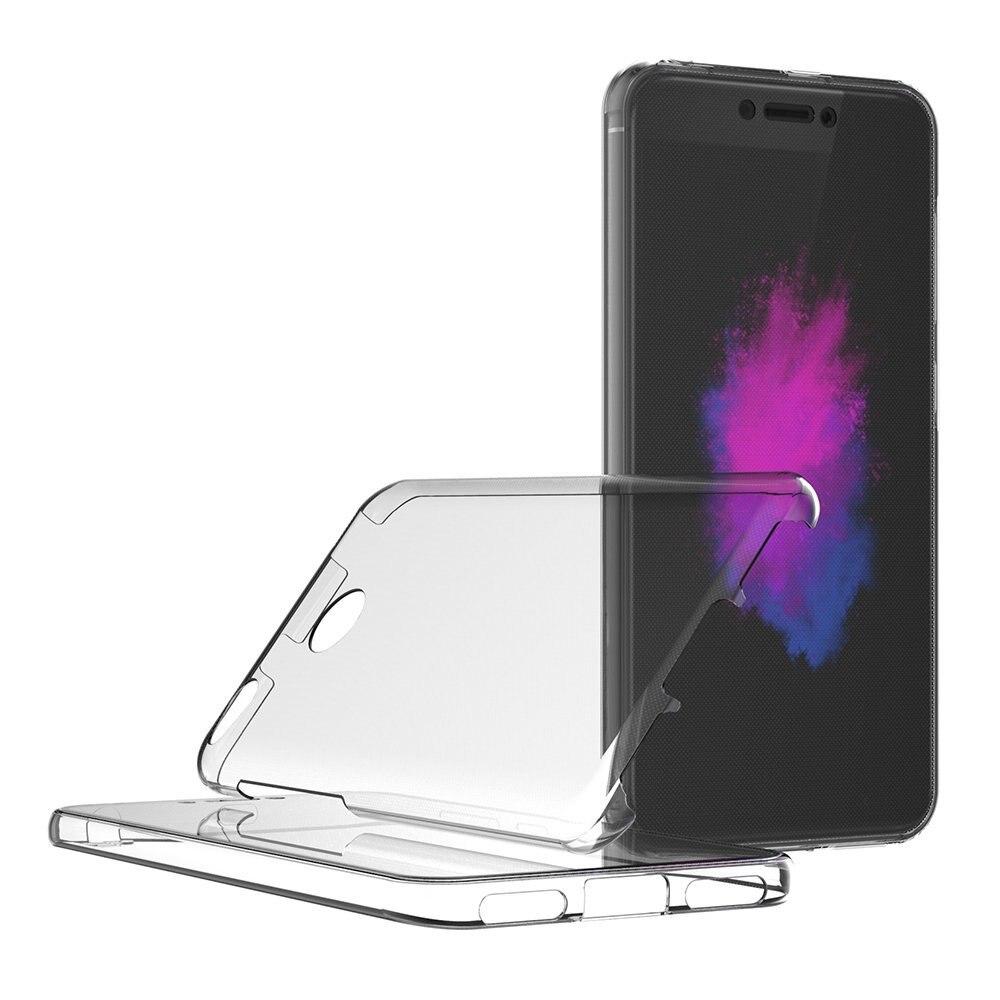 360 Degree Transparent Silicone Case For Xiaomi Mi A1 Redmi 5 Plus 4X 5A Capa Full body Front And Back Coque For Redmi Note 5A 4