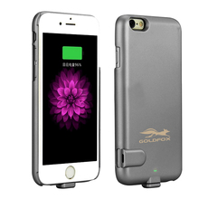 1500mAh Ultra thin Power Bank Case Portable External Battery Charger Rechargeable Backup Power Case Cover for Iphone 6 6s