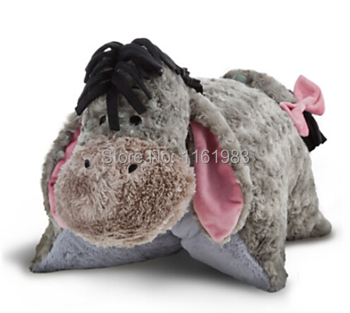 Authentic Eeyore, Folding Plush Pillow- Large 48cm Eeyore Plush Pillow<br>
