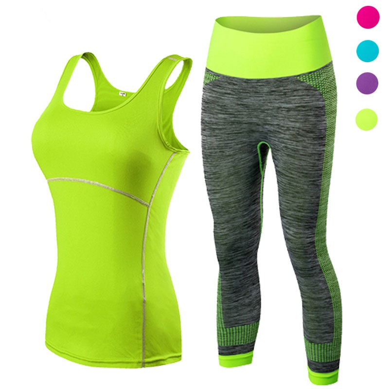 polyester yoga suit