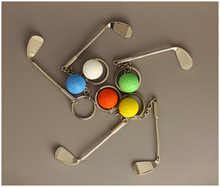 Hotempo Star Action Figure Golf clubs Keychains Sports Key Covers Kids's Best Gifts(China)
