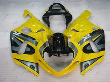 2001 GSXR 600 Fairing Kits YELLOW GSX-R600 2003 Fairing Kits GSX R600 01 03 Fairing 2001 - 2003 K1(China)