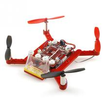 Newest RC Plane 021 DIY Building Blocks 2.4G 4CH 6Axis RC Quadcopter RTF(China)