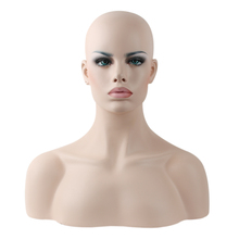 Realistic Wig Display Mannequin Head