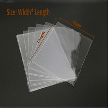 Clear Cellophane Bags 400pcs/lot Transparent Opp cosmetic Clear plastic Packing bag  gift bags candy tools flat pocket