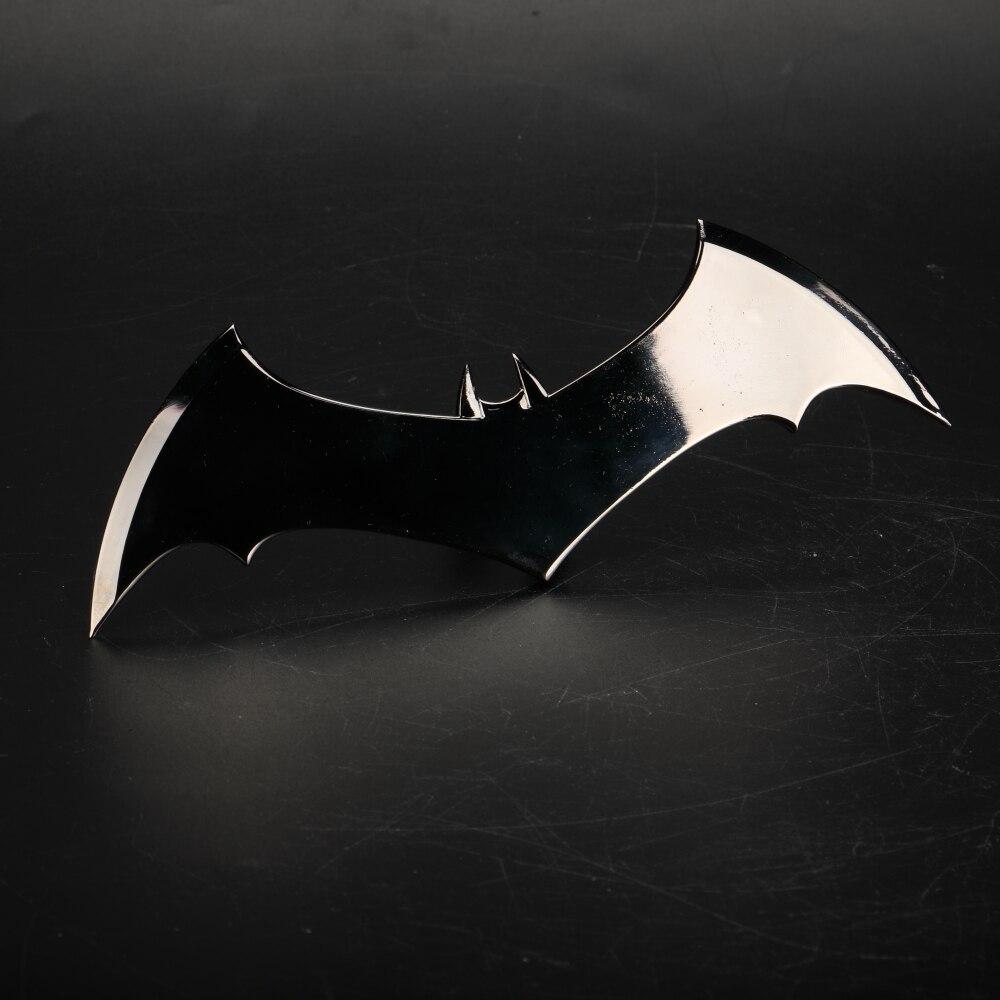 Shazam Batarangs Batman Dart Metal Batgirl Dart Superhero Weapon Cosplay Props (8)