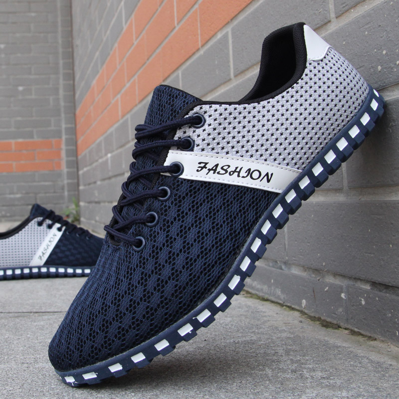 2017 new shoes mens casual shoes mesh shoes for men shoes sport Breathable fashion summer Flats outdoor classic male shoes<br><br>Aliexpress