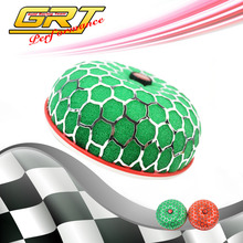 GRT - Air Filter NECK :80mm Cleaner Intake/ air intake filter in red or green color without logo