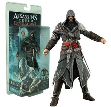 NECA assassins creed action figure Ezio 18cm toys neca action figure garage kits toys for birthday gift