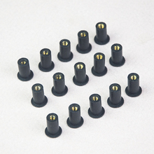 M5 Rubber Well Nuts Blind Fastener rivet fishing kayak accessories jack nuts pack of 15