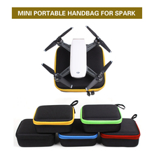 Mini Portable Handbag Handheld D Storage Bag Box for DJI Spark Drone Body Remote Controller Accessories(China)