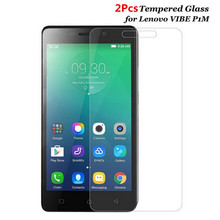 Buy Bainov 2Pcs/Lot Explosion-proof Tempered Glass Film Lenovo VIBE P1M P1mc50 P1ma40 Dual Sim Front Screen Protector for $1.59 in AliExpress store