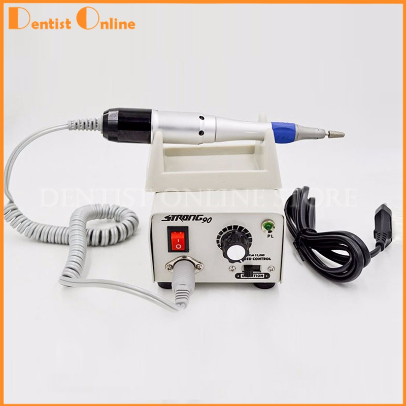 Free-shipping-Strong-90-Micromotor-Hand-Polishing-Polisher-220V-with-low-speed-Handpiece-for-nails-lab (2)