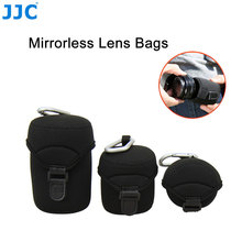 JJC Mirrorless Lens Case Neoprene Pouch Soft Camera Bag For Sony Olympus Canon Nikon(China)