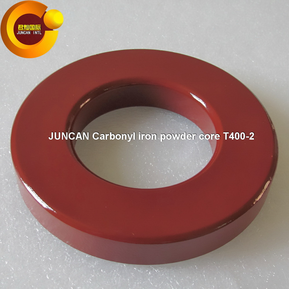 Hot sale T400-2 High-frequency low-loss carbonyl iron powder core magnetic core<br>