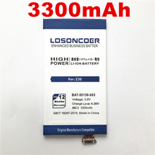 100% Original LOSONCOER 3300mAh Battery for BlackBerry Z30 BAT-50136-003 Cell Phone Battery + Tracking Number(China)