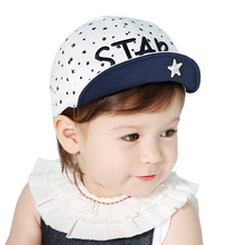 2017 New Baby sun hat Girls baseball cap Infant Summer Hats Child sunhat 0-24Months toddler Kids boy Visor caps