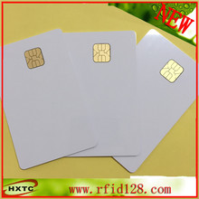 Free Shipping ISO14443 (20PCS/Lot) AT24C02 Chip Contact Blank Smart  Card  with 2K Memory