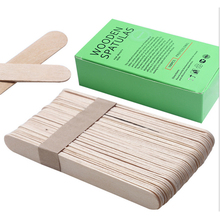 5 Pcs Smear Sticks Hair Remover Essential Tools Hard Wax Beans Daub Tools Can Pick The Hot Wax  15cm Long