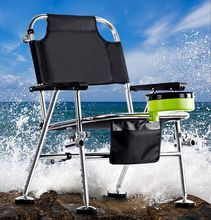 fishing chair stainless steel 3kg multifunctional fishing chair outdoor leisure fishing stool for Relaxed fishing