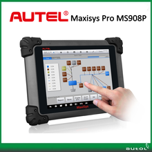 AUTEL MaxiSys Pro MS908P Car Diagnostic / ECU Programming Tool with Bluetooh/WiFi free online update ms908p Auto Scanner