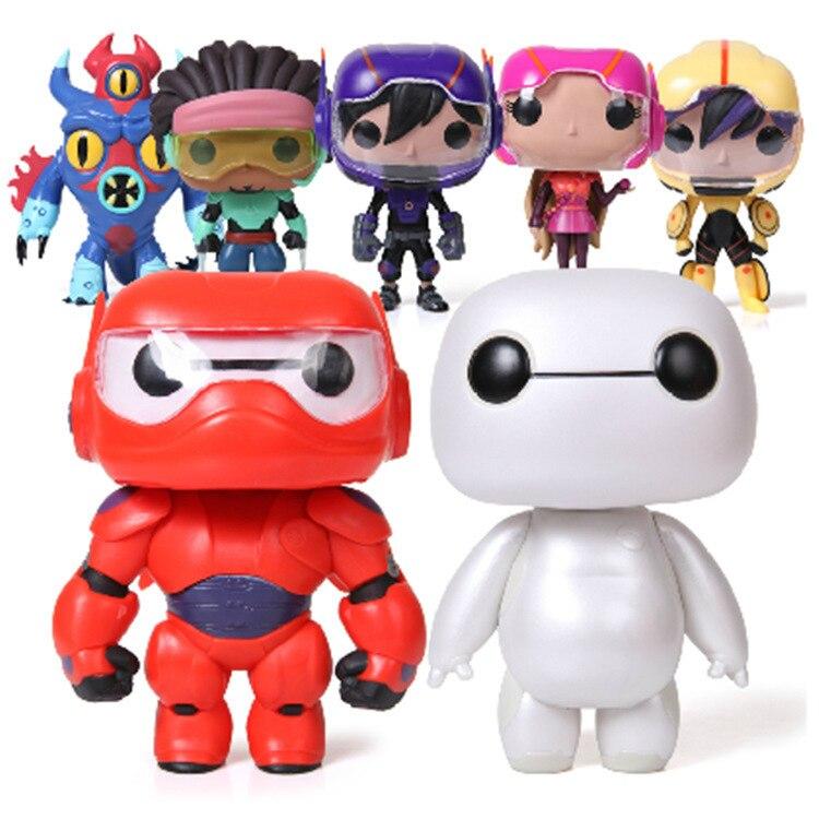 Free Shipping Funko POP NEW 10CM Big Hero 6 Action Figure Toy With Original Box Fat Balloon Man Doll Baymax Kids Marvel<br><br>Aliexpress