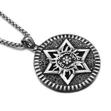 Star of David Men Pendant Necklace Stainless Steel Dog Tag Necklace Flame Pattern Punk Vintage Israel Judaic Jewish Jewelry