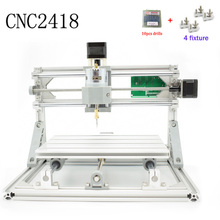 CNC 2418 GRBL control Diy CNC machine,working area 24x18x4.5cm,3 Axis Pcb Pvc Milling machine,Wood Router,Carving Engraver,v2.5