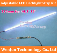 High Quality NEW Universal 310mm Replacement 14.1 inch wide LED Backlight Strip Kit Update LCD Panel Screen Laptop to LED