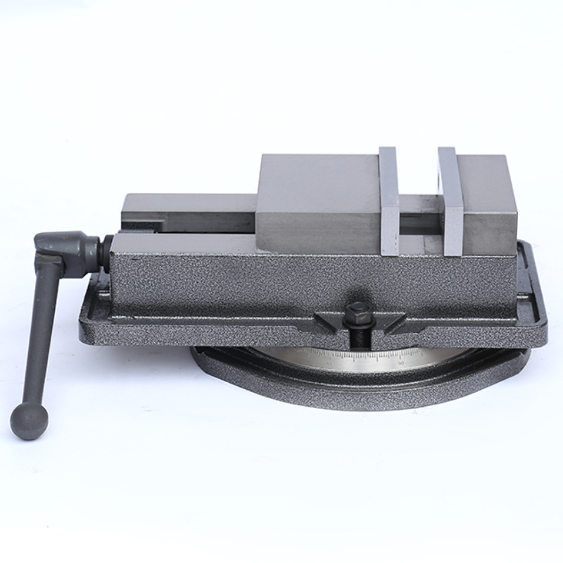 125mm Precision Swivel Rotating Base Bench Vice Horizontal Solid Milling 5/""